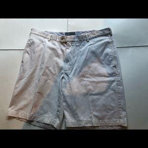 Peter Millar white cotton shorts
